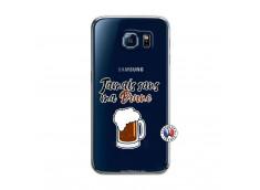 Coque Samsung Galaxy S6 Jamais Sans Ma Brune