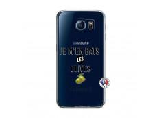 Coque Samsung Galaxy S6 Je M En Bas Les Olives