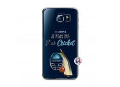 Coque Samsung Galaxy S6 Je peux pas j'ai cricket