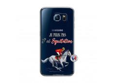 Coque Samsung Galaxy S6 Je Peux Pas J Ai Equitation