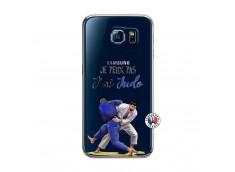 Coque Samsung Galaxy S6 Je peux pas j'ai Judo