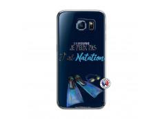 Coque Samsung Galaxy S6 Je Peux Pas J Ai Natation