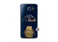 Coque Samsung Galaxy S6 Je Peux Pas J Ai Rando
