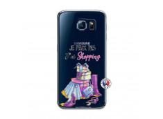 Coque Samsung Galaxy S6 Je Peux Pas J Ai Shopping