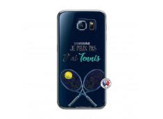 Coque Samsung Galaxy S6 Je Peux Pas J Ai Tennis