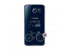 Coque Samsung Galaxy S6 Je Peux Pas J Ai Velo