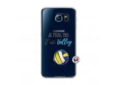 Coque Samsung Galaxy S6 Je Peux Pas J Ai Volley