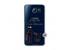 Coque Samsung Galaxy S6 Je Peux Pas Je Suis Veterinaire