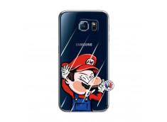 Coque Samsung Galaxy S6 Mario Impact