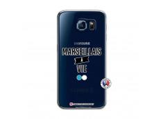 Coque Samsung Galaxy S6 Marseillais à Vie