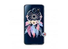 Coque Samsung Galaxy S6 Multicolor Watercolor Floral Dreamcatcher