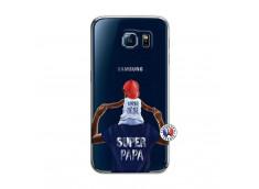 Coque Samsung Galaxy S6 Papa Super Heros