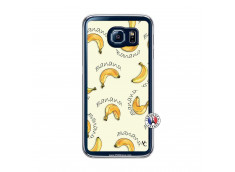 Coque Samsung Galaxy S6 Sorbet Banana Split Translu