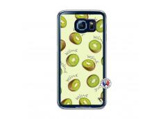 Coque Samsung Galaxy S6 Sorbet Kiwi Translu