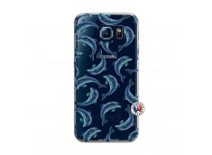 Coque Samsung Galaxy S6 Dolphins