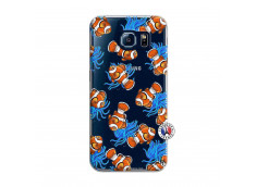 Coque Samsung Galaxy S6 Poisson Clown