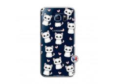 Coque Samsung Galaxy S6 Petits Chats