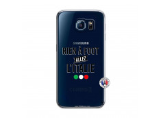 Coque Samsung Galaxy S6 Rien A Foot Allez L'Italie