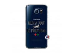 Coque Samsung Galaxy S6 Rien A Foot Allez Le Portugal