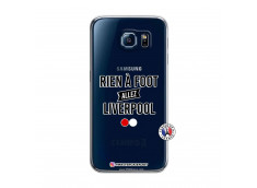 Coque Samsung Galaxy S6 Rien A Foot Allez Liverpool