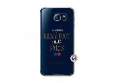 Coque Samsung Galaxy S6 Rien A Foot Allez Paris