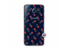 Coque Samsung Galaxy S6 Rose Pattern