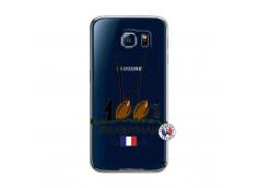 Coque Samsung Galaxy S6 100 % Rugbyman Entre les Poteaux