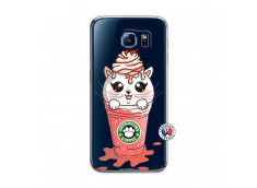 Coque Samsung Galaxy S6 Catpucino Ice Cream
