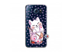 Coque Samsung Galaxy S6 Smoothie Cat