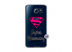 Coque Samsung Galaxy S6 Super Maman