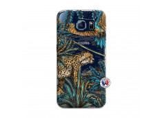 Coque Samsung Galaxy S6 Leopard Jungle