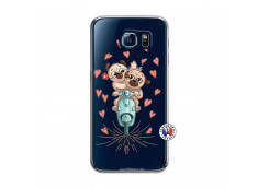 Coque Samsung Galaxy S6 Puppies Love