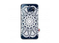 Coque Samsung Galaxy S6 White Mandala