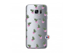 Coque Samsung Galaxy S7 Edge Cactus Pattern