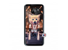 Coque Samsung Galaxy S7 Edge Cat Nasa Translu