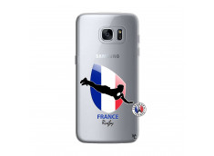 Coque Samsung Galaxy S7 Edge Coupe du Monde de Rugby-France