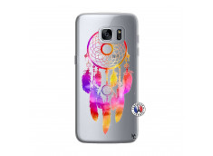 Coque Samsung Galaxy S7 Edge Dreamcatcher Rainbow Feathers