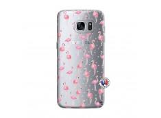 Coque Samsung Galaxy S7 Edge Flamingo