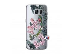 Coque Samsung Galaxy S7 Edge Flower Birds