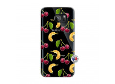 Coque Samsung Galaxy S7 Edge Hey Cherry, j'ai la Banane