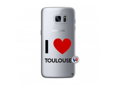 Coque Samsung Galaxy S7 Edge I Love Toulouse