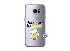 Coque Samsung Galaxy S7 Edge Jamais Sans Ma Blonde