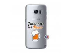 Coque Samsung Galaxy S7 Edge Jamais Sans Ma Rousse