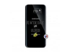Coque Samsung Galaxy S7 Edge Je M En Bas Les Olives