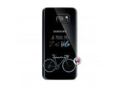 Coque Samsung Galaxy S7 Edge Je Peux Pas J Ai Velo
