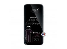 Coque Samsung Galaxy S7 Edge Je Peux Pas Je Suis Veterinaire