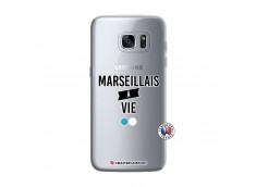 Coque Samsung Galaxy S7 Edge Marseillais à Vie