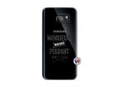 Coque Samsung Galaxy S7 Edge Monsieur Mauvais Perdant