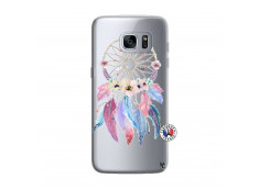 Coque Samsung Galaxy S7 Edge Multicolor Watercolor Floral Dreamcatcher