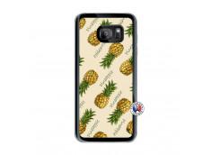 Coque Samsung Galaxy S7 Edge Sorbet Ananas Translu